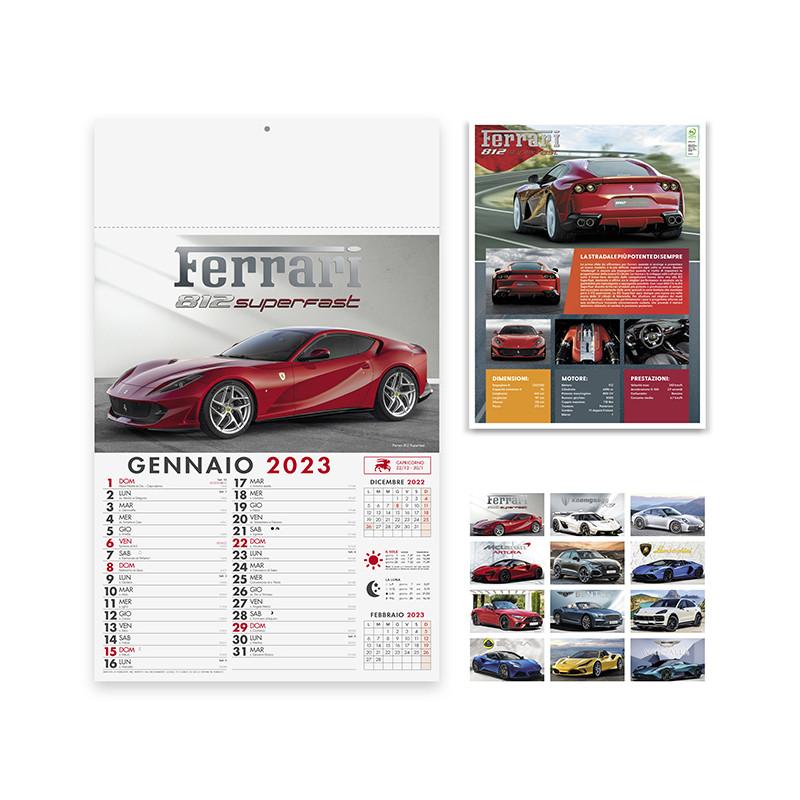 Calendario Auto sportive pa162