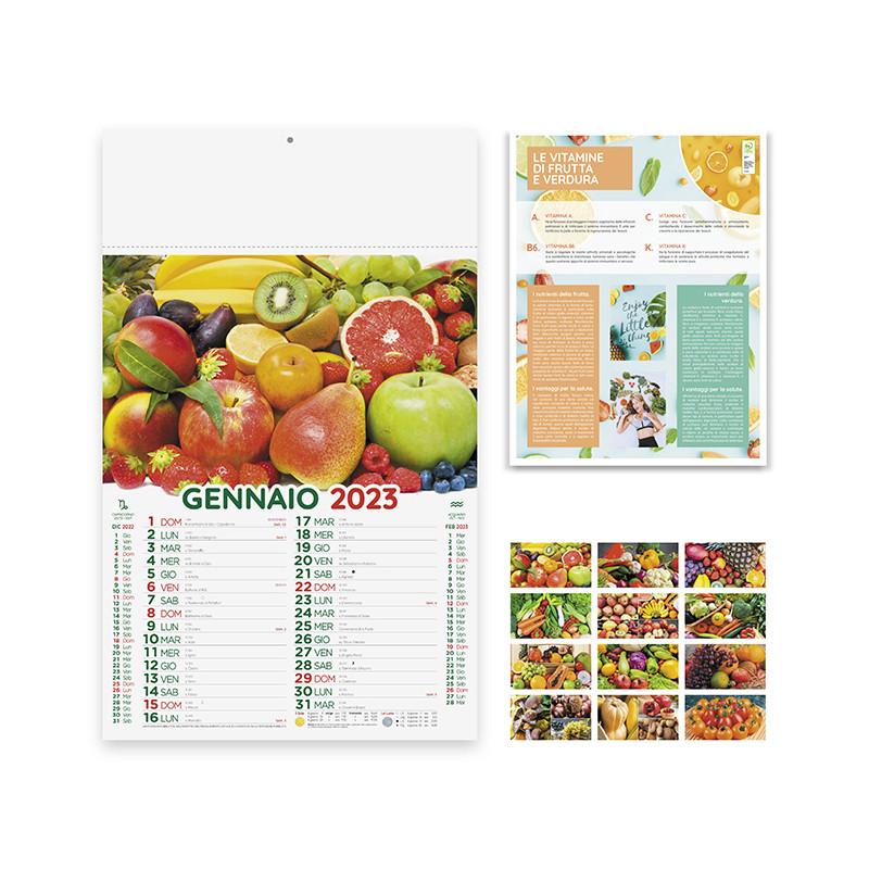 Calendario Frutta e verdura pa146