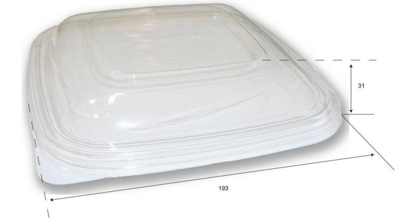 Coperchio per vaschetta con coperchio separato