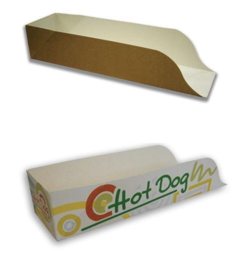 Porta hot dog aperto