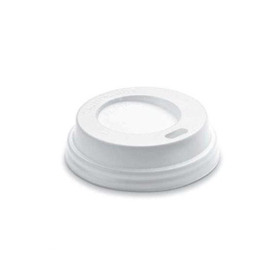 Coperchio con beccuccio in polistirene per bicchiere da 230 ml