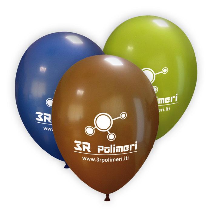 Palloncini stampati con logo e nome