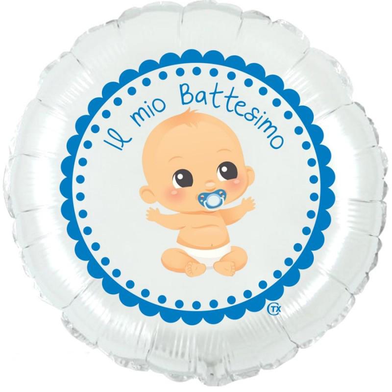 "Battesimo Bimbo (18"") Bianco"