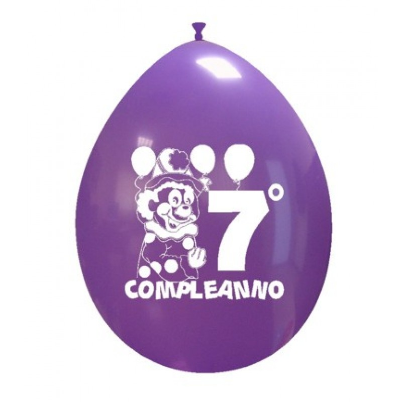 "10"" 7° Compleanno"