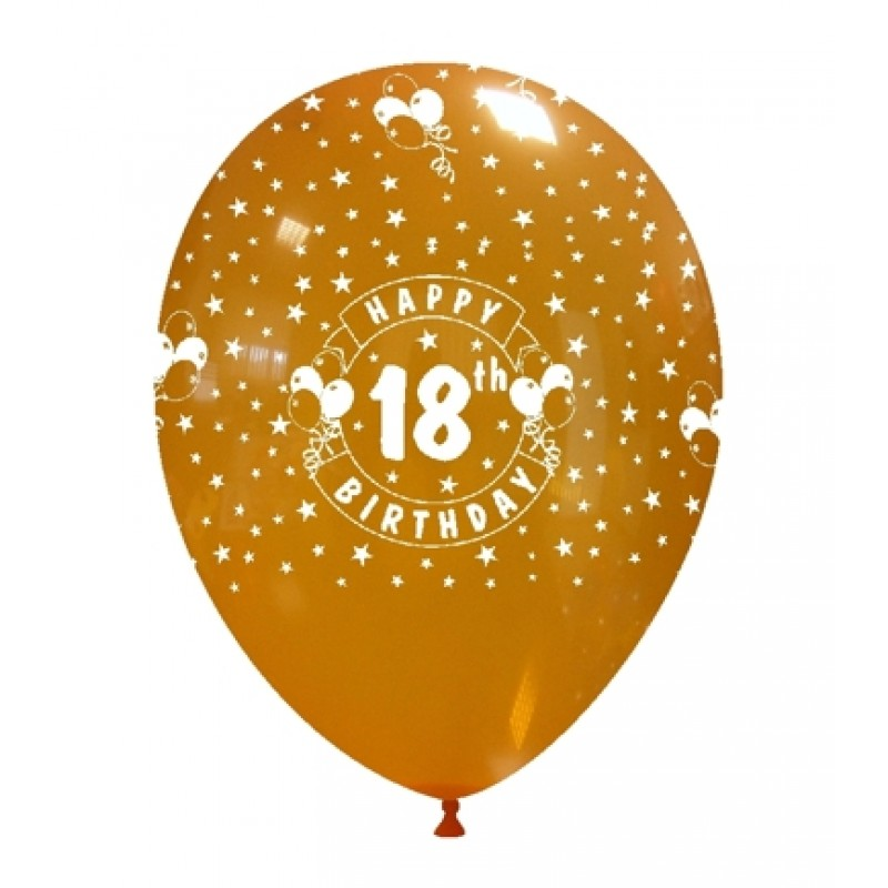 "12"" 18th Birthday (globo)"