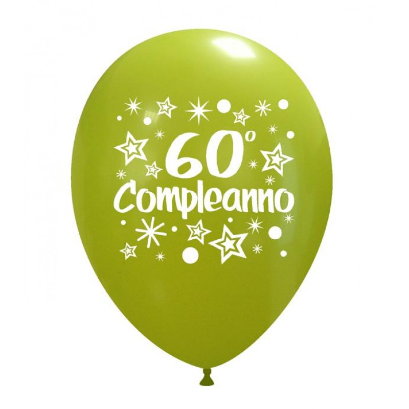 "12"" 60° Compleanno"