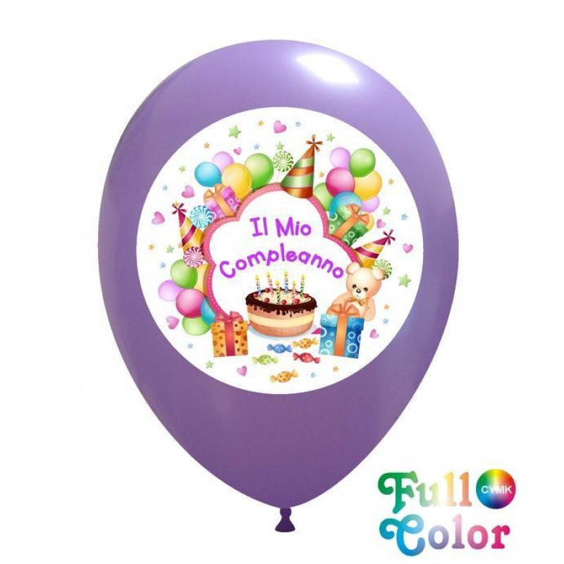 "12"" Il Mio Compleanno - Full Color (CMYK)"