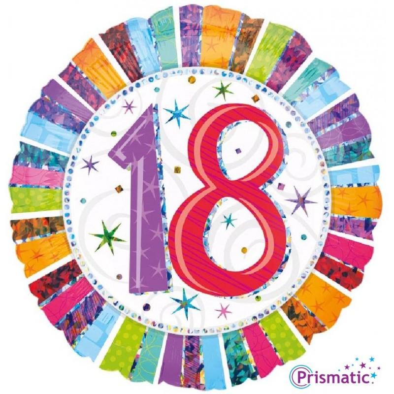 """18 Radiant Birthday (18"""")"""