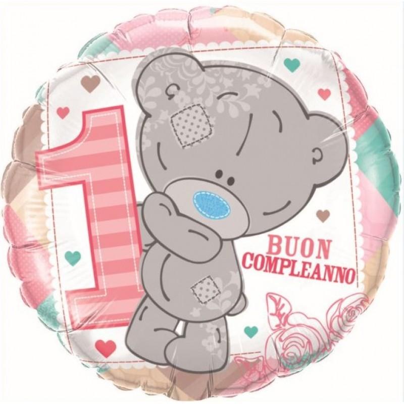 "1° Compleanno Teddy Bimba (18"")"