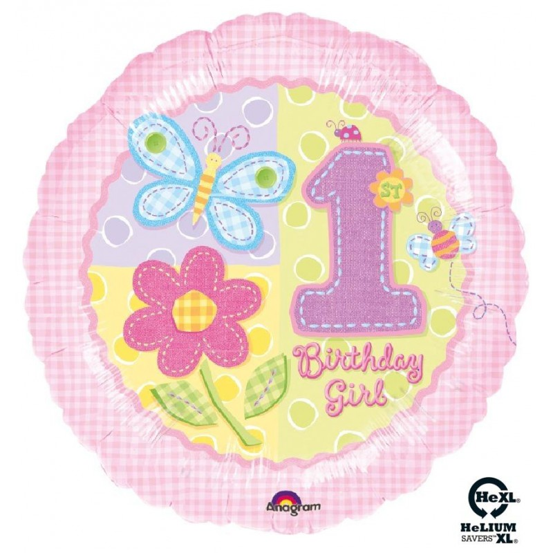 "1st Birthday Bimba HeXL® (18"")"