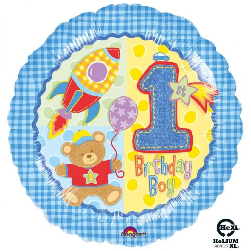 "1st Birthday Bimbo HeXL® (18"")"