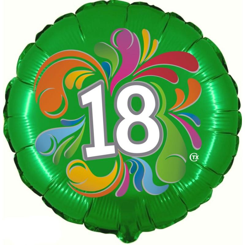 """18 Anni Colorato (18"""")"""