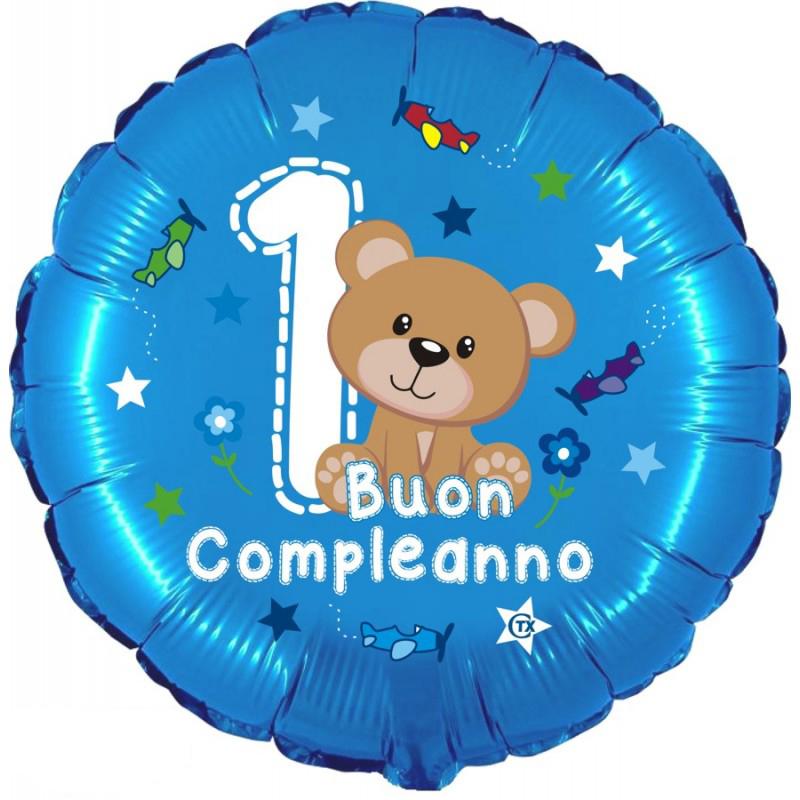 """1° Compleanno Orsetto (18"""")"""