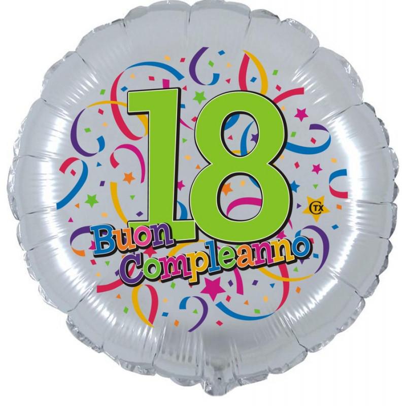 """Buon 18° Compleanno (18"""")"""