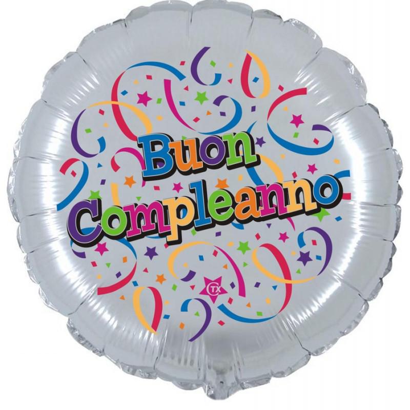 """Buon Compleanno (18"""")"""