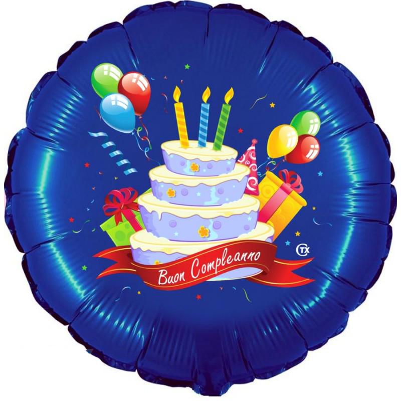 """Buon Compleanno Celeste (18"""")"""
