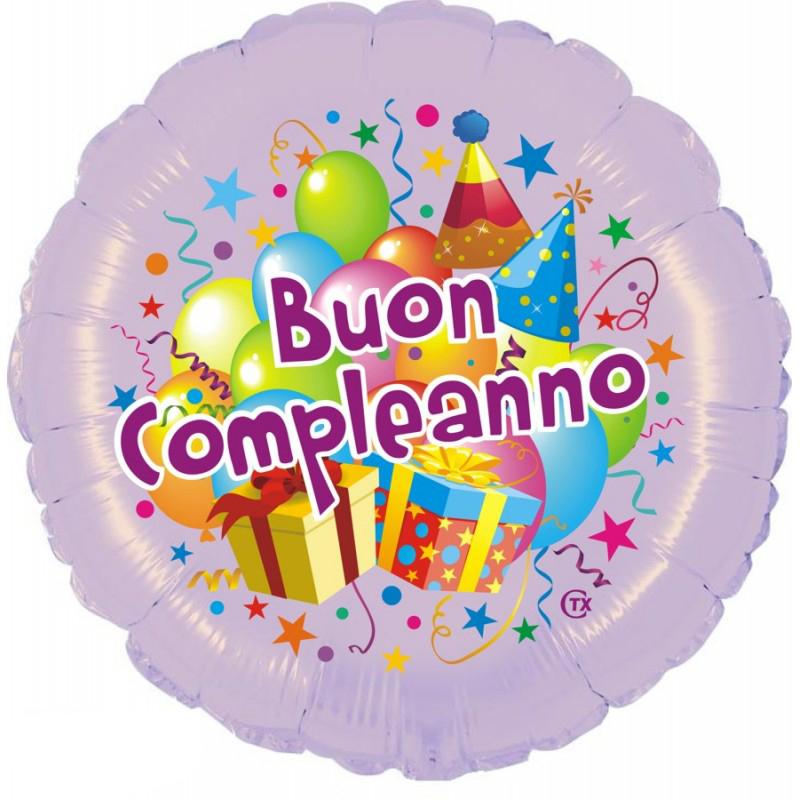 """Buon Compleanno Festa (18"""")"""