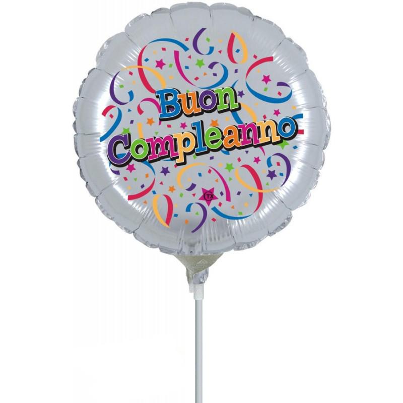 """Buon Compleanno Minishape (9"""")"""