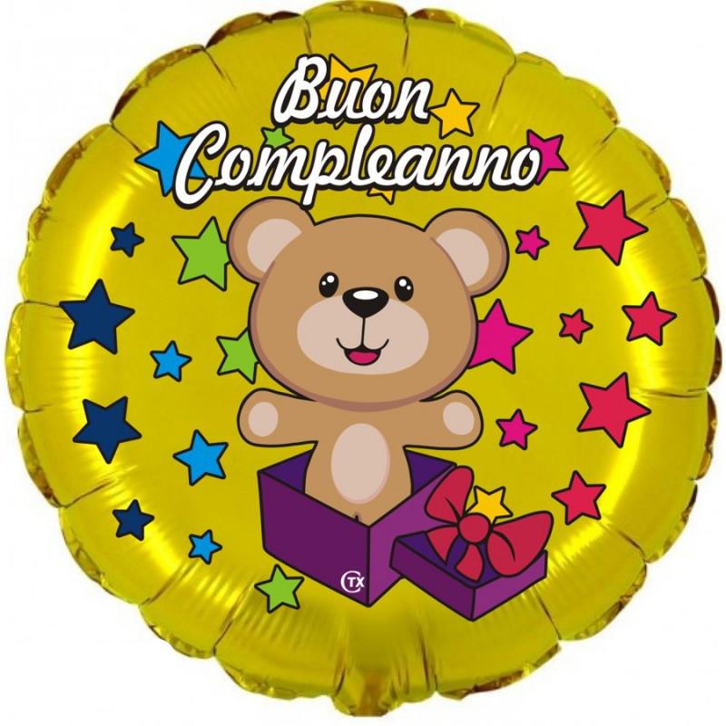 """Buon Compleanno Orsetto (18"""")"""
