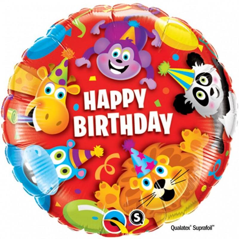 """Happy Birthday Animali (18"""")"""