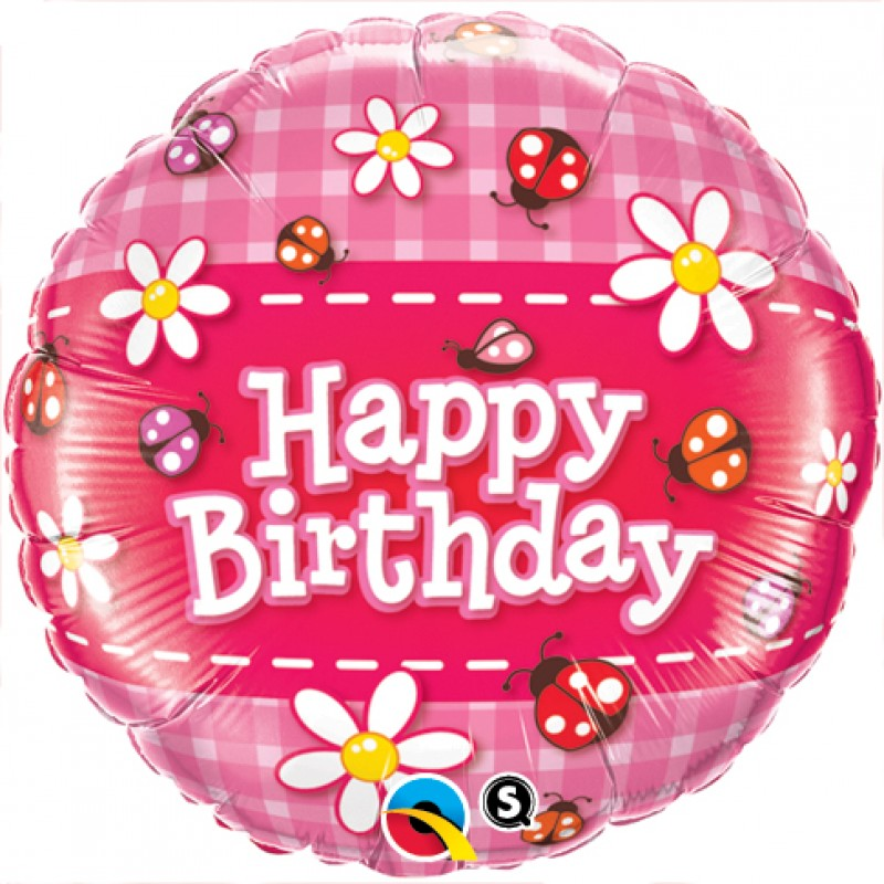 "Happy Birthday Coccinelle (18"")"