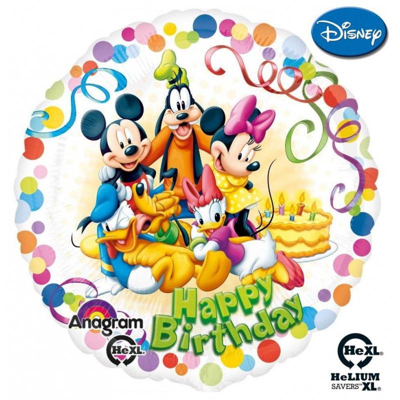 "Mickey & Friends Birthday Party HeXL® (18"")"