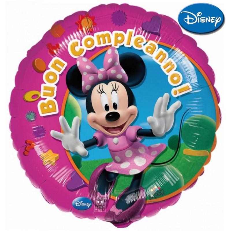 """Minnie Buon Compleanno XL® (18"""")"""