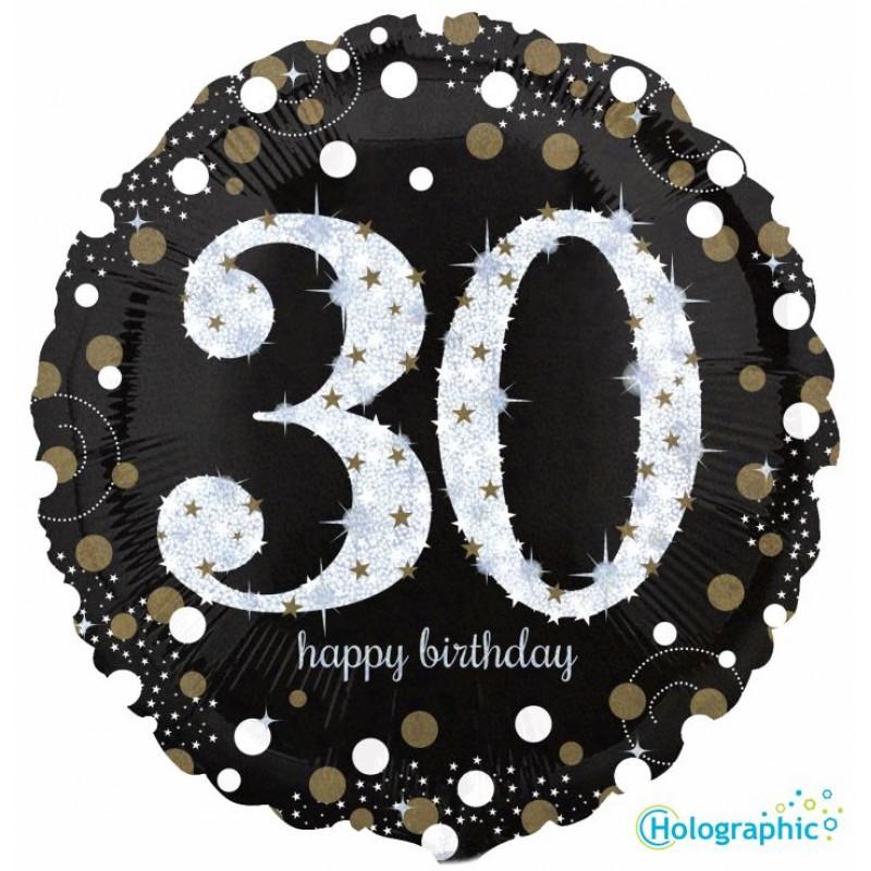 """30 Compleanno Scintillante (18"""")"""