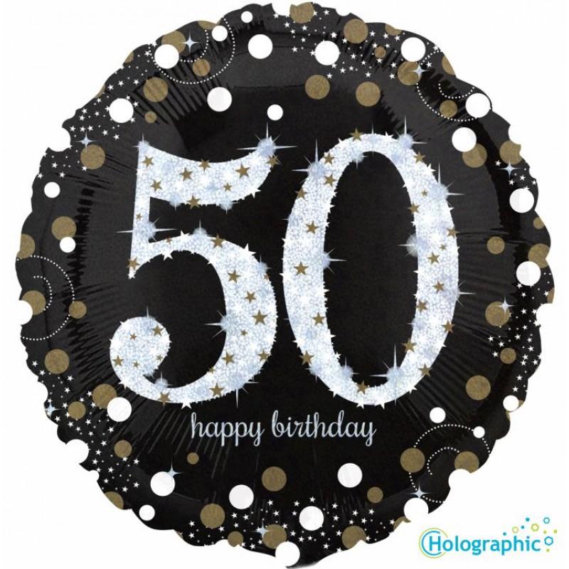 """50 Compleanno Scintillante (18"""")"""