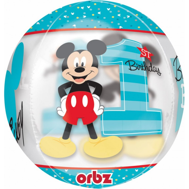 Mickey Primo Compleanno - Orbz (16