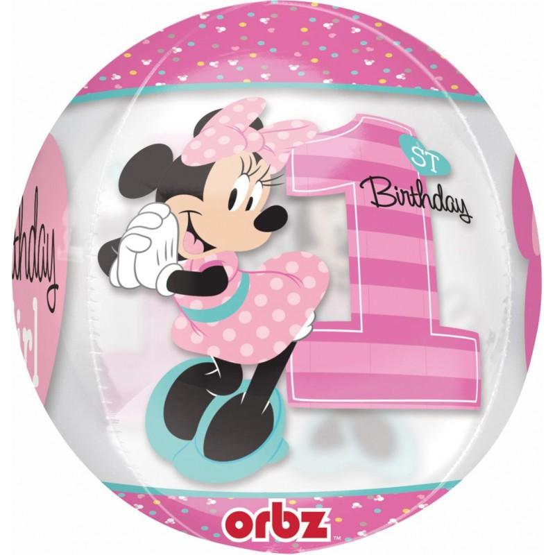 Minnie Mouse Primo Compleanno - Orbz (16