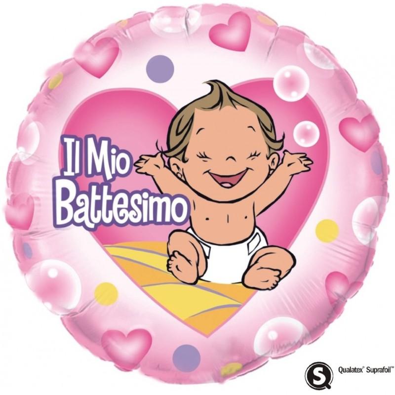 "Il mio Battesimo Bimba (18"")"