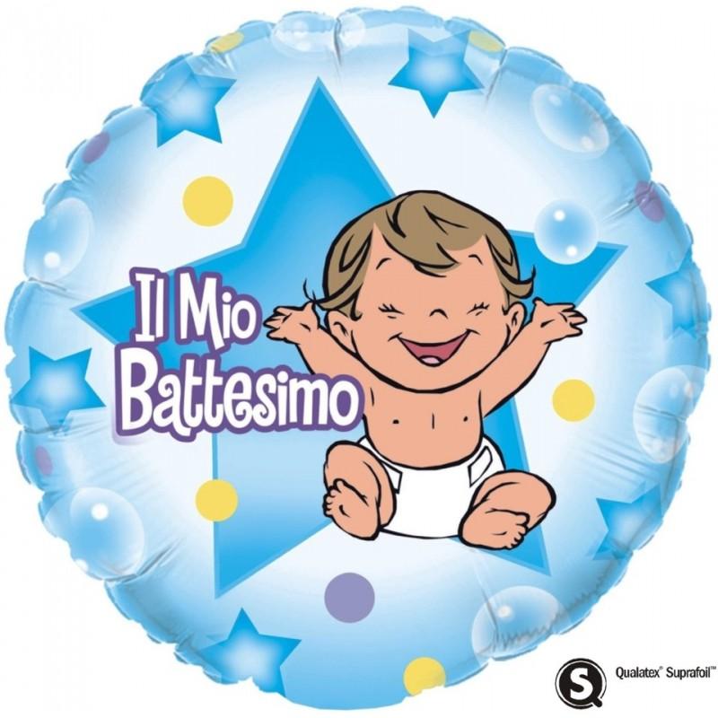 "Il mio Battesimo Bimbo (18"")"
