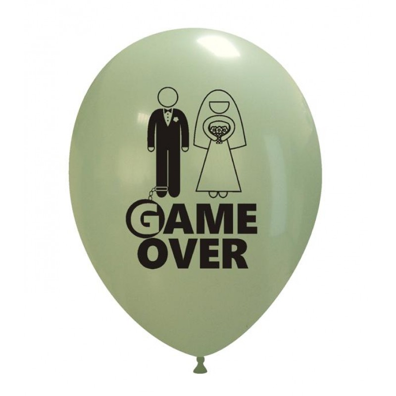 "12"" Game Over"