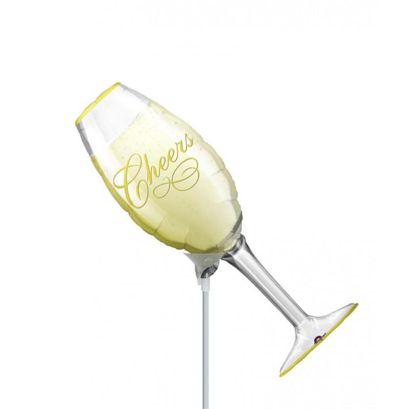 """Champagne Cheers MiniShape (14"""")"""