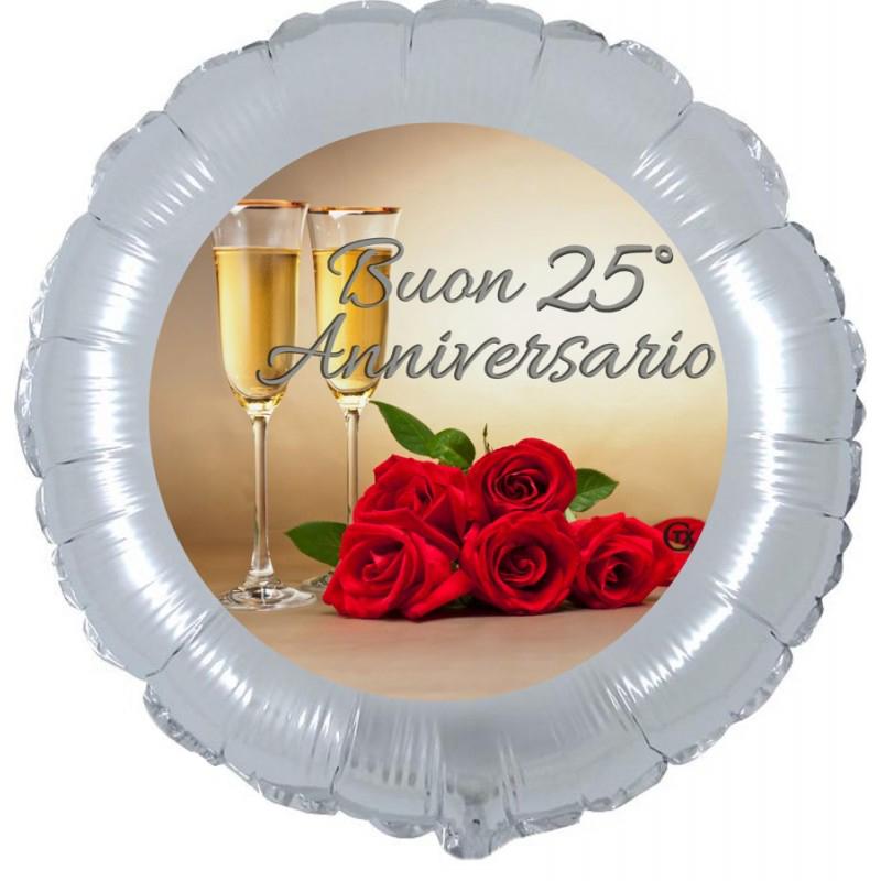"""Buon 25° Anniversario (18"""")"""