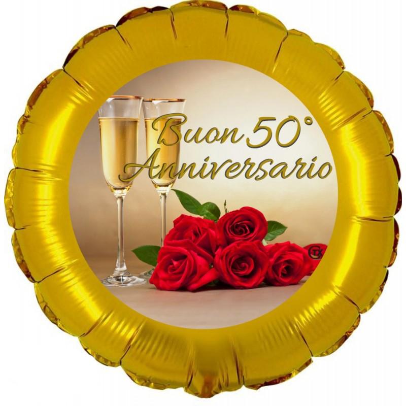 """Buon 50° Anniversario (18"""")"""