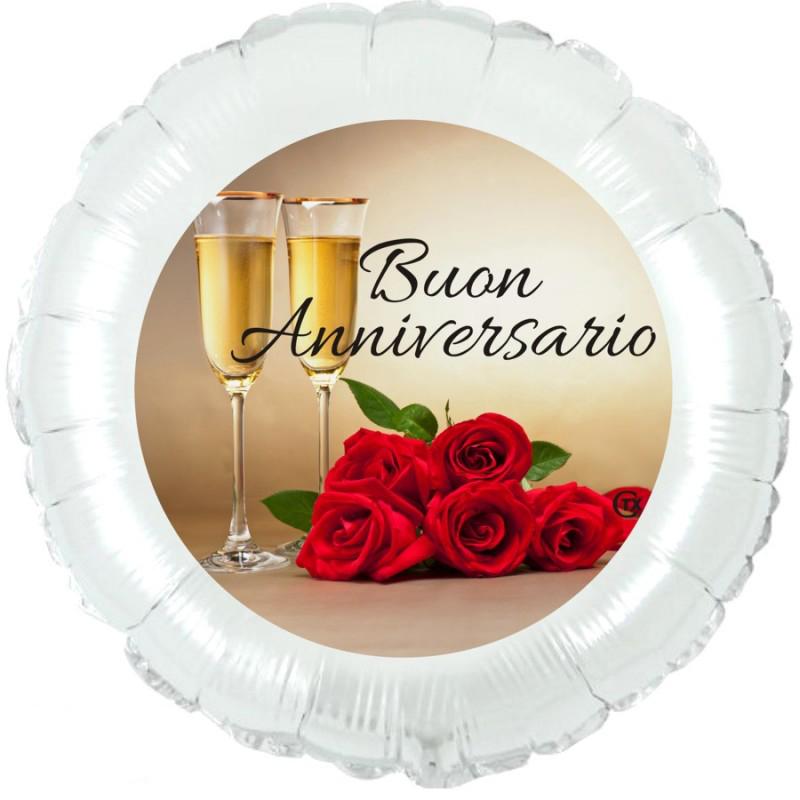 """Buon Anniversario (18"""")"""
