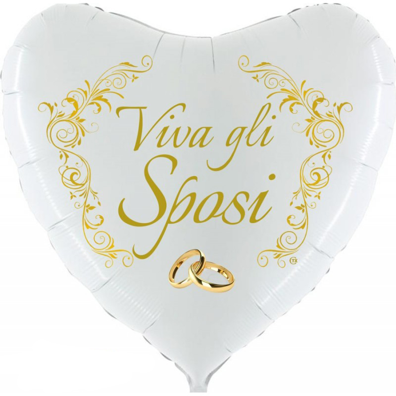 "Viva gli Sposi Supershape (36"")"