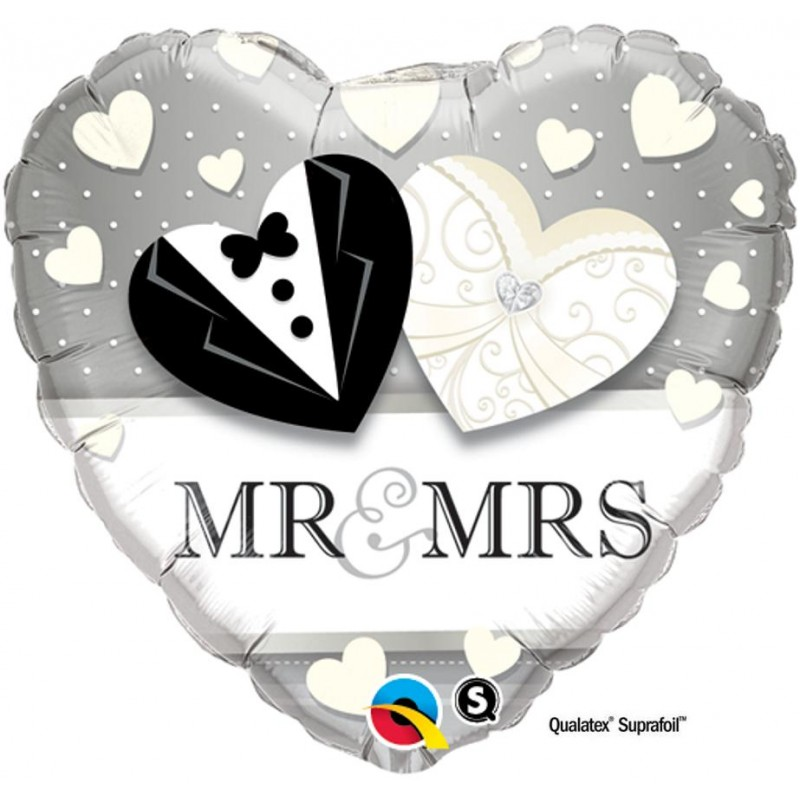 "Cuore Mr. & Mrs. (18"")"
