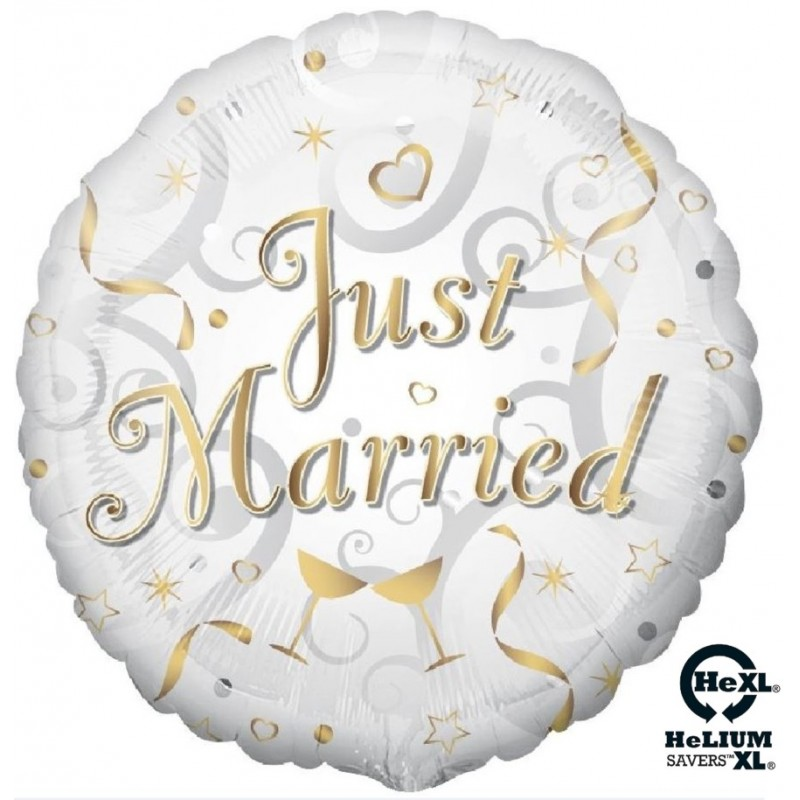 "Just Married HeXL® (18"")"