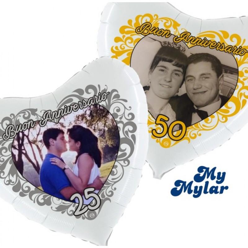 Mylar - Anniversario Foto (Grande)
