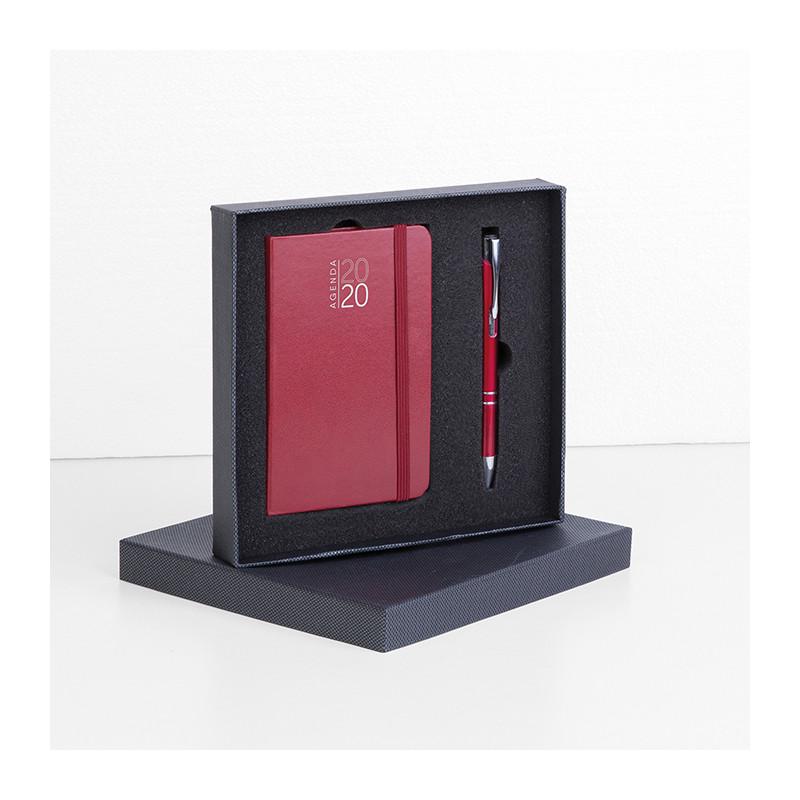 Parure Agenda notes e penna PB572 - F.to 9x15 cm