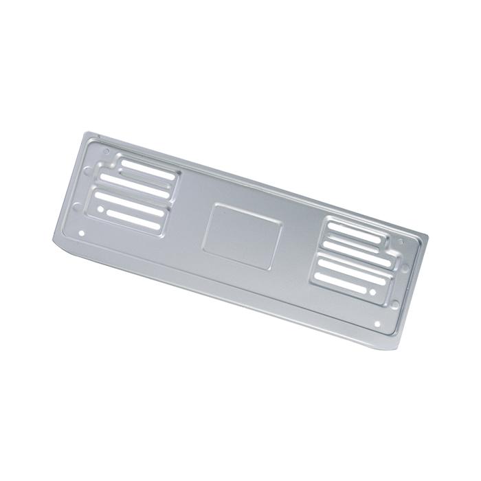 Portatarga auto anteriore alluminio PLUM PN210