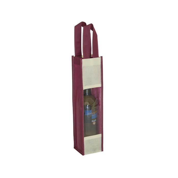 Buste portabottiglie con finestra PG119