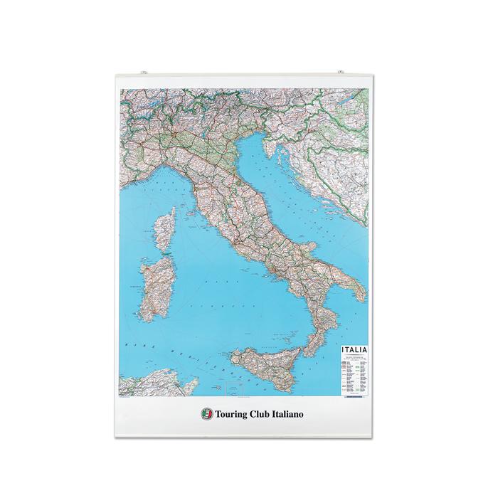 CARTINA ITALIA PH760