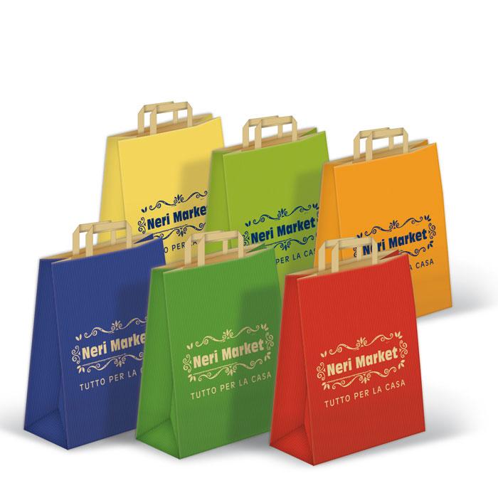 Shoppers Sealing Avana Fondo Pieno Maniglia Piatta