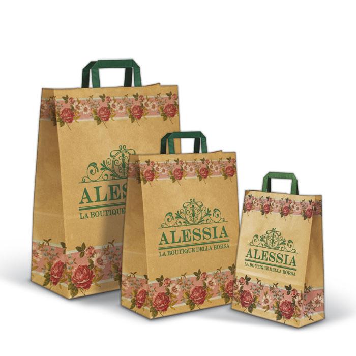 Shopper Automatico Fantasia Fascia Fiorita