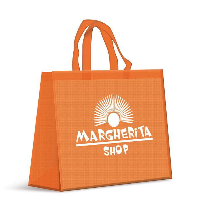 Shopper in TNT ( Tessuto non tessuto ) - Manico Corto