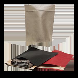 Sacchetti senza manico chiusura adesiva